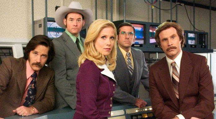 Anchorman (2004) - Top 10 Comedies