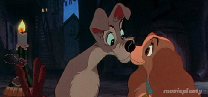 Lady and the Tramp (1955) - Top 10 Disney Movies