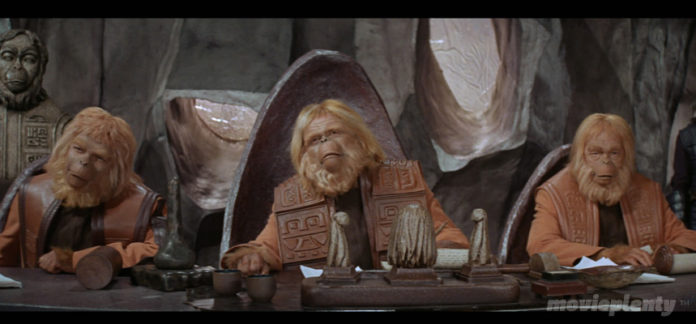 Planet of the Apes (1968) - Top 10 Sci-fi Movies