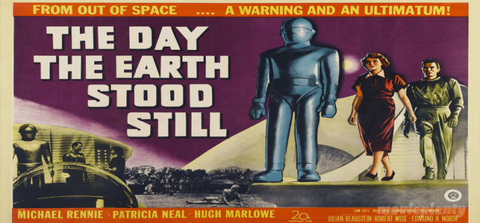 The Day the Earth Stood Still (1951) - Top 10 Sci-fi Movies