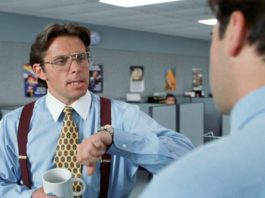 Bill Lumbergh, Office Space - Top 10 Movie Jerks