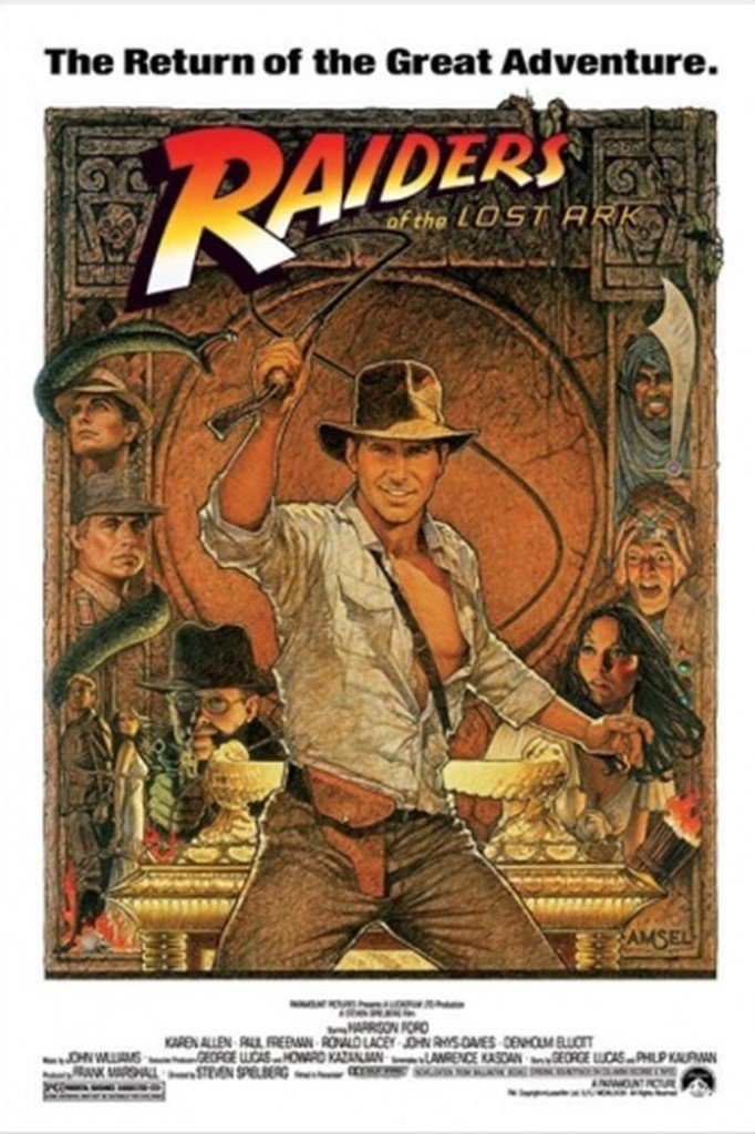 Indian Jones movie poster